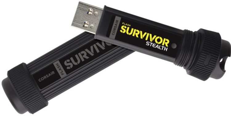 Corsair Flash Survivor Stealth (CMFSS3B)